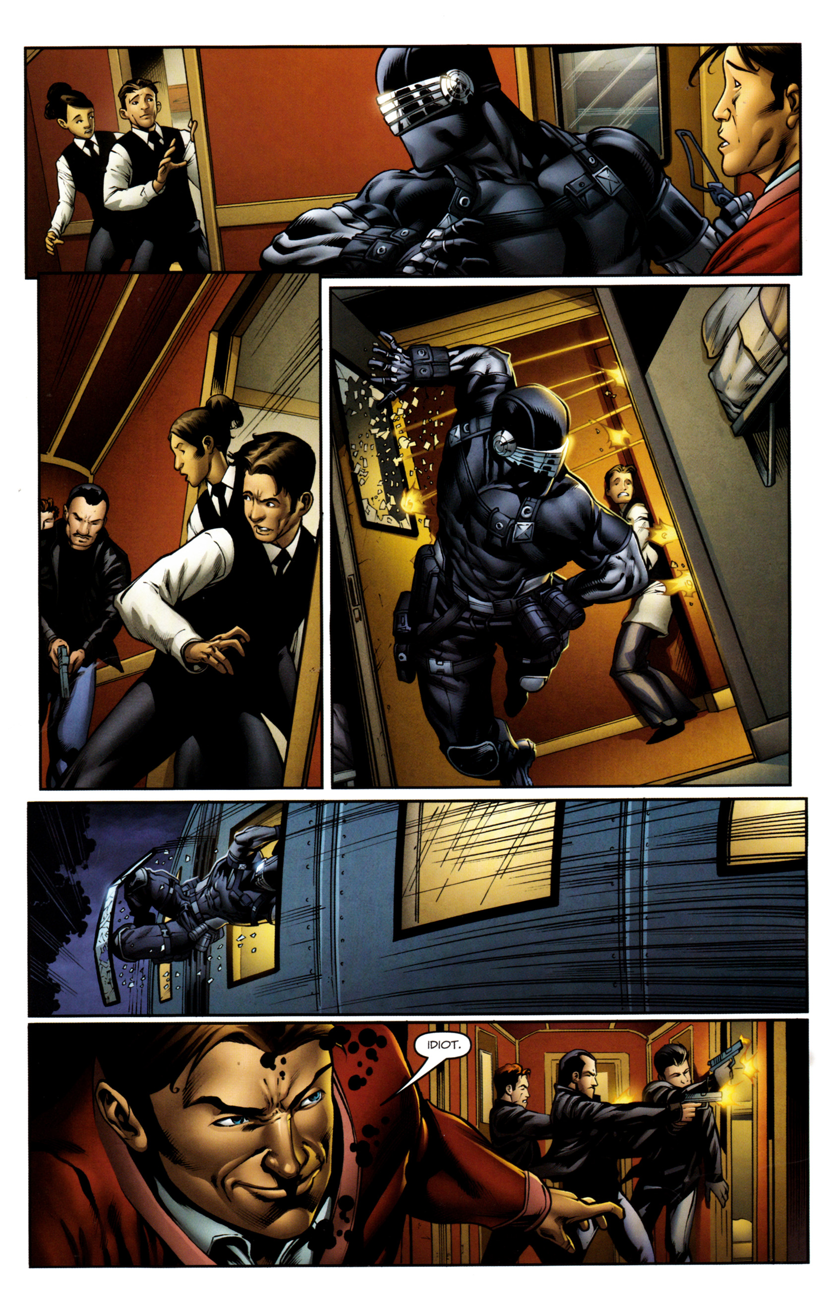 Read online Snake Eyes and Storm Shadow comic -  Issue #13 - 21