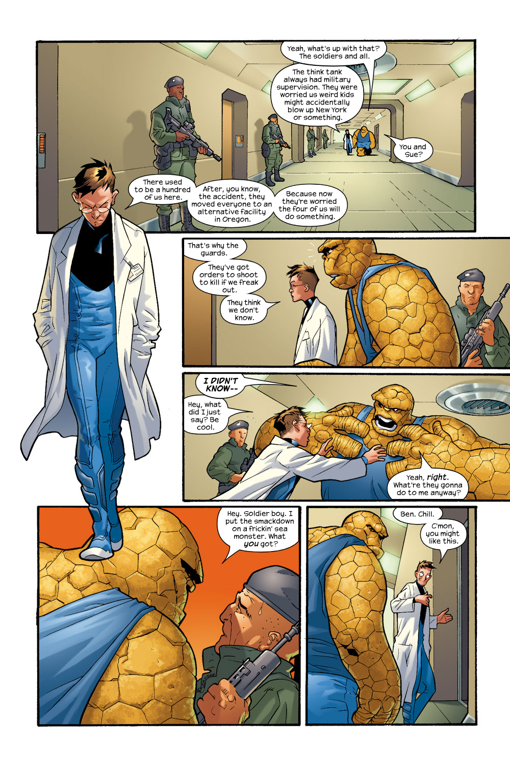 Read online Ultimate Fantastic Four (2004) comic -  Issue #8 - 13