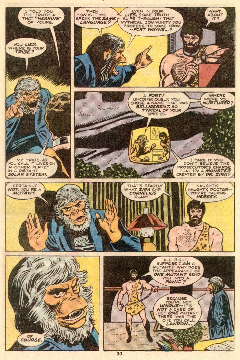 Read online Adventures on the Planet of the Apes comic -  Issue #4 - 20