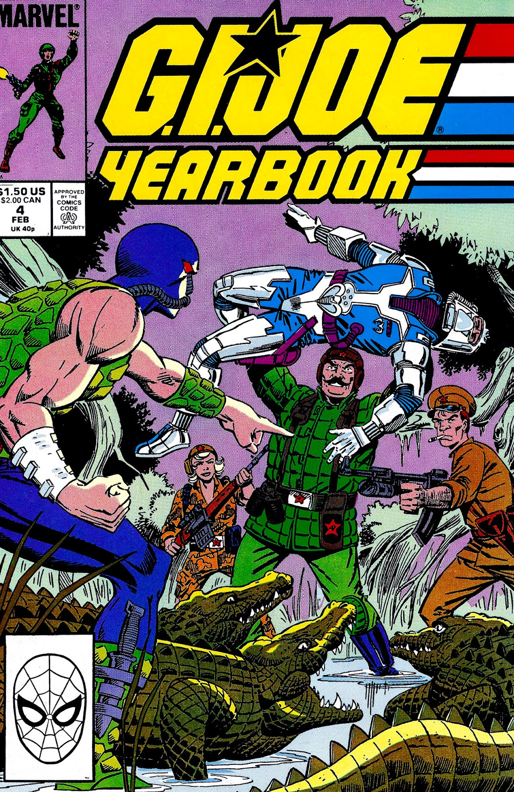 G.I. Joe Yearbook issue 4 - Page 1