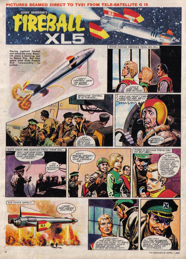 Read online TV Century 21 (TV 21) comic -  Issue #115 - 19