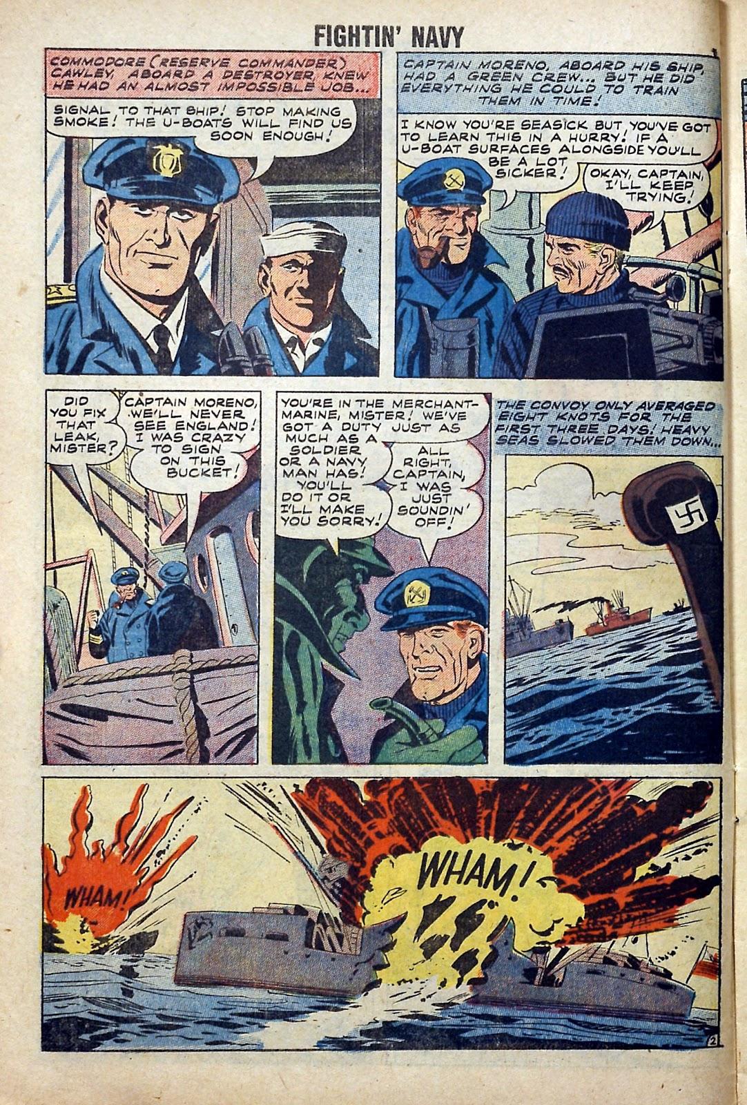 Read online Fightin' Navy comic -  Issue #84 - 10