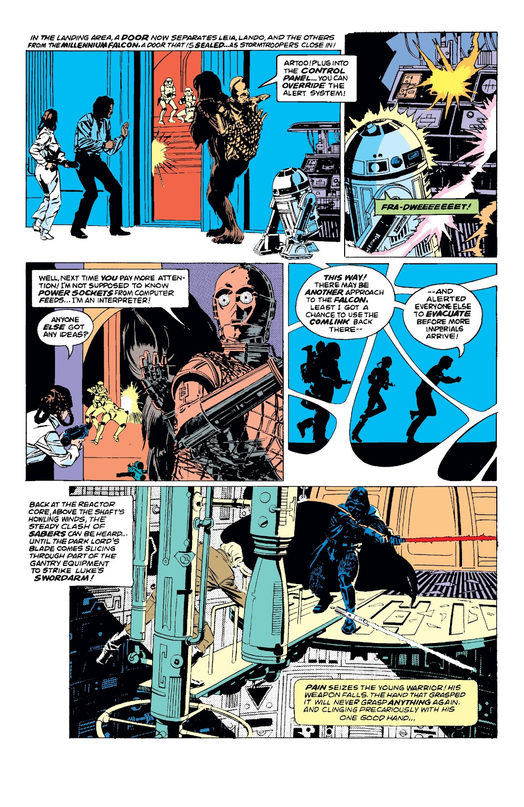 Read online Star Wars Legends: The Original Marvel Years - Epic Collection comic -  Issue # TPB 3 (Part 2) - 6