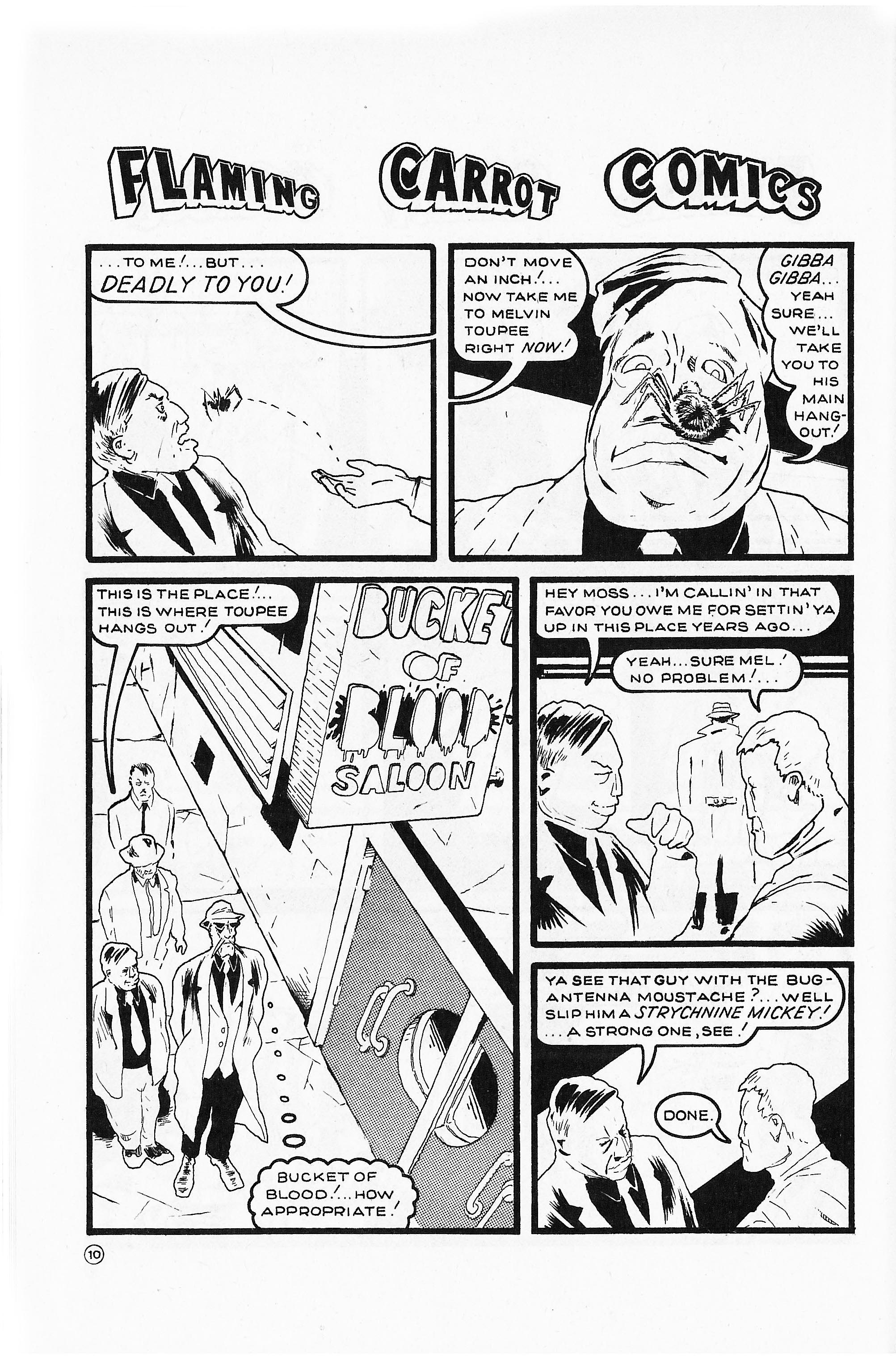 Read online Flaming Carrot Comics (1984) comic -  Issue #2 - 12