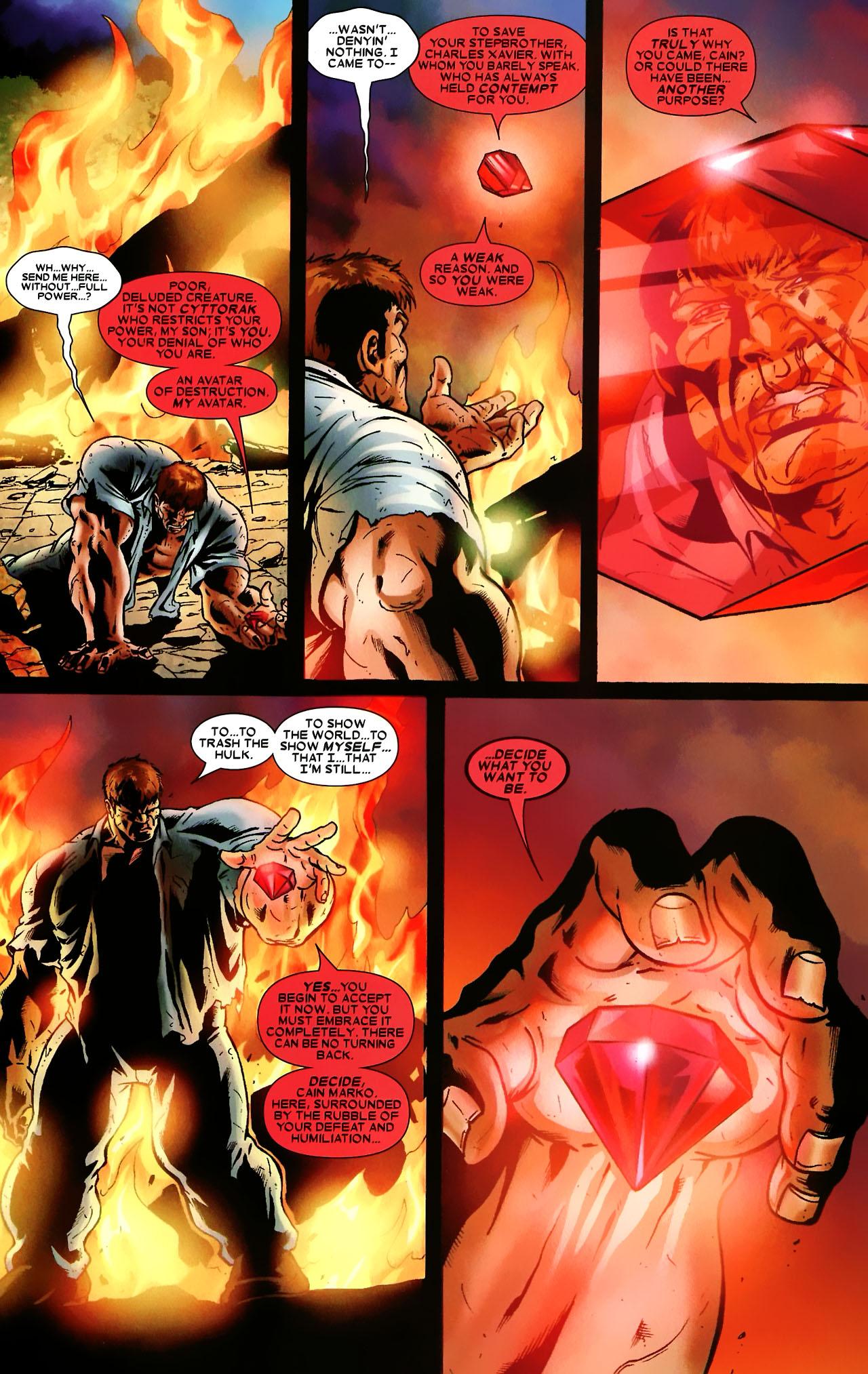 Read online World War Hulk: X-Men comic -  Issue #3 - 12