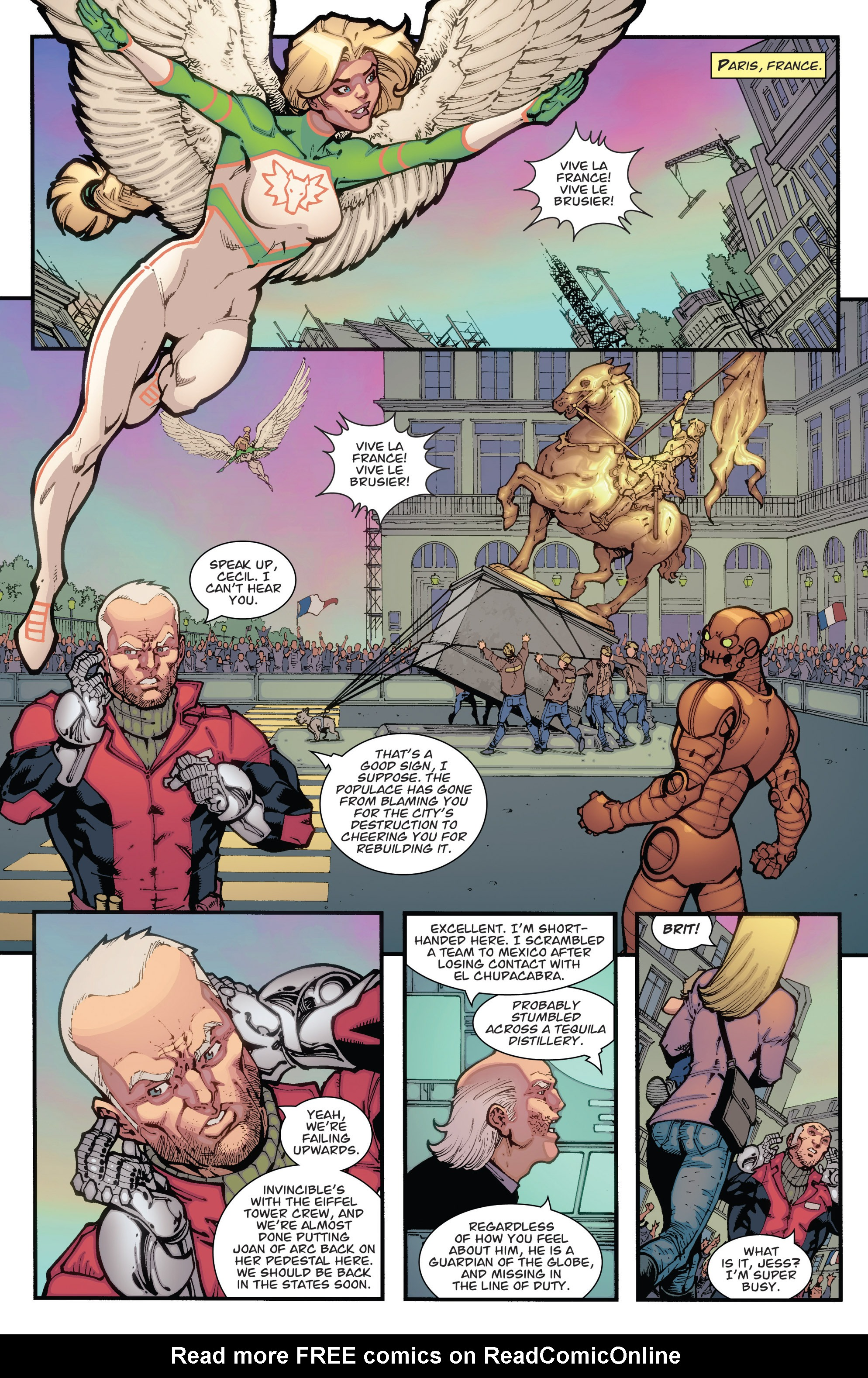 Read online Guarding the Globe (2012) comic -  Issue #3 - 11