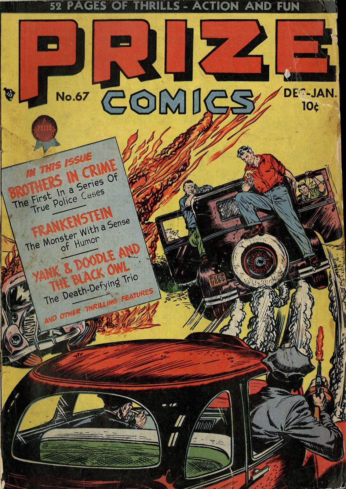 Prize Comics 67 Page 1