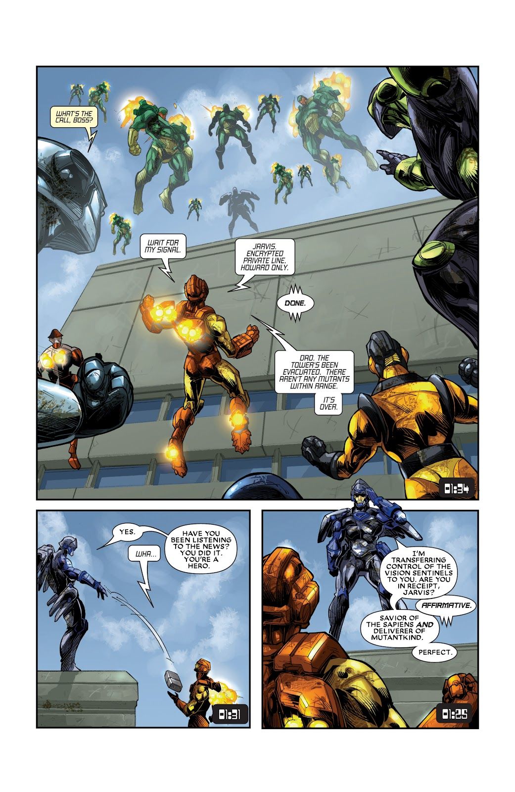 Iron Man: House of M Issue #3 #3 - English 17