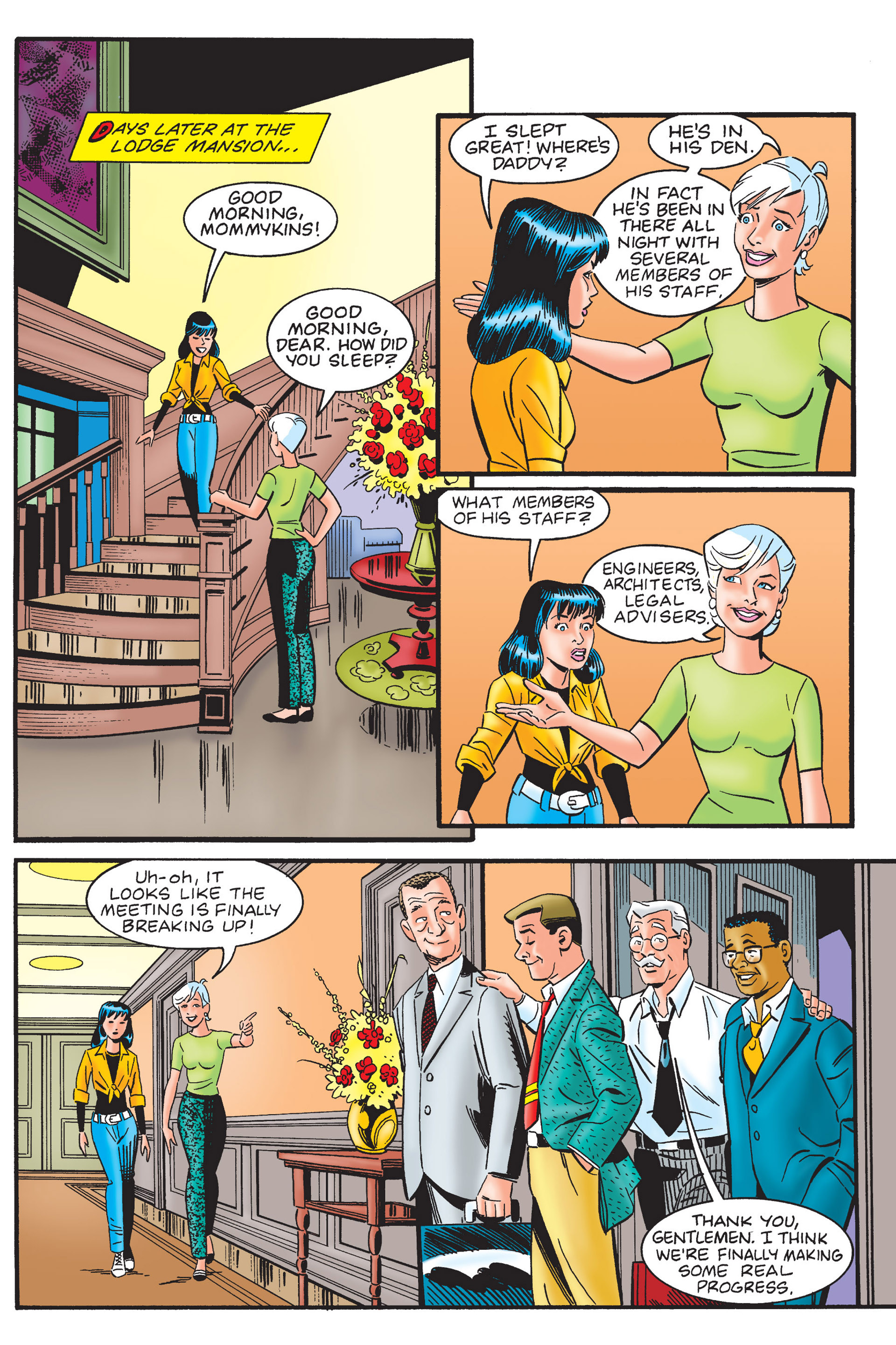 Read online Archie's New Look Series comic -  Issue #4 - 100