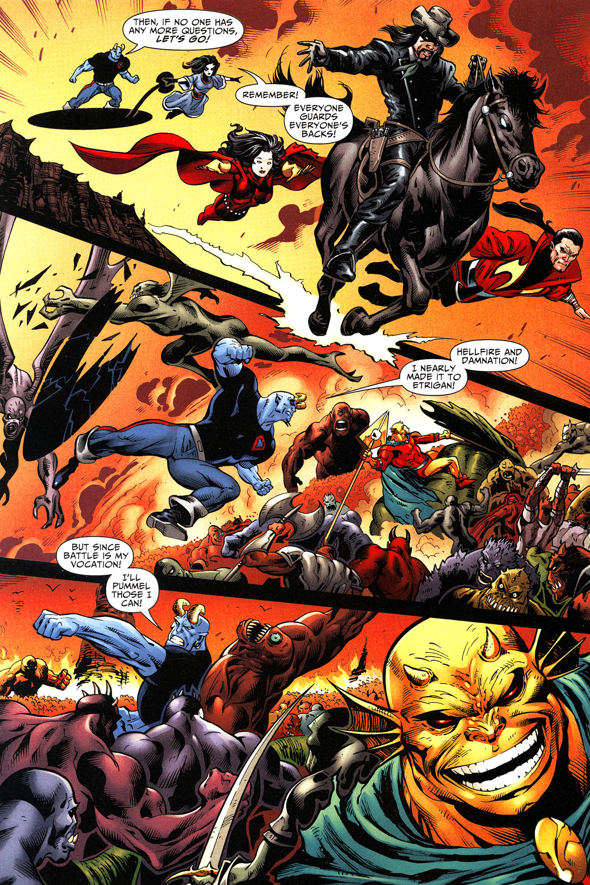 Read online Shadowpact comic -  Issue #11 - 5