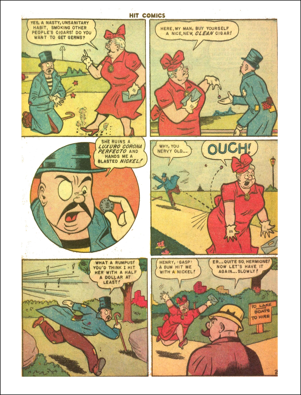 Read online Hit Comics comic -  Issue #65 - 17