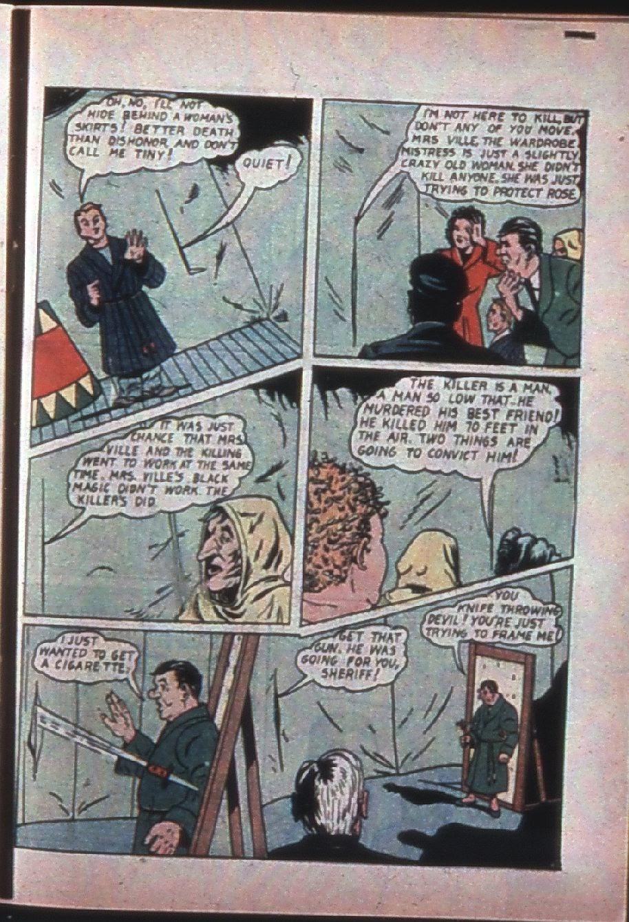 Read online Super-Magician Comics comic -  Issue #7 - 56