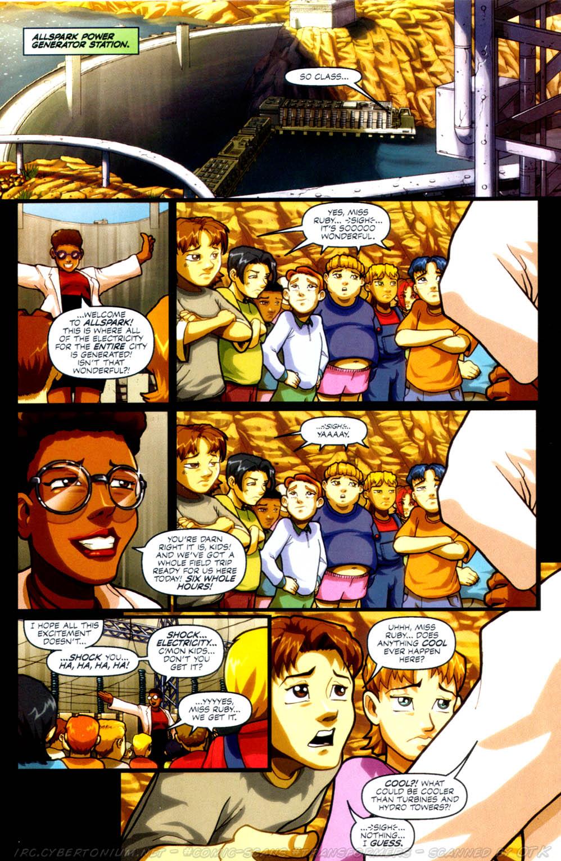 Read online Transformers Armada comic -  Issue #4 - 3