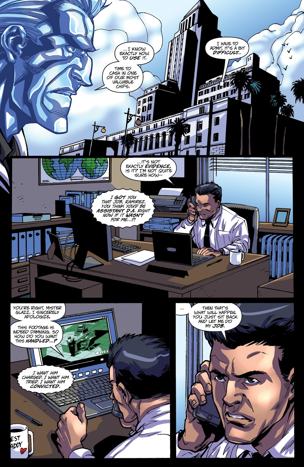 Read online Accell comic -  Issue #19 - 21