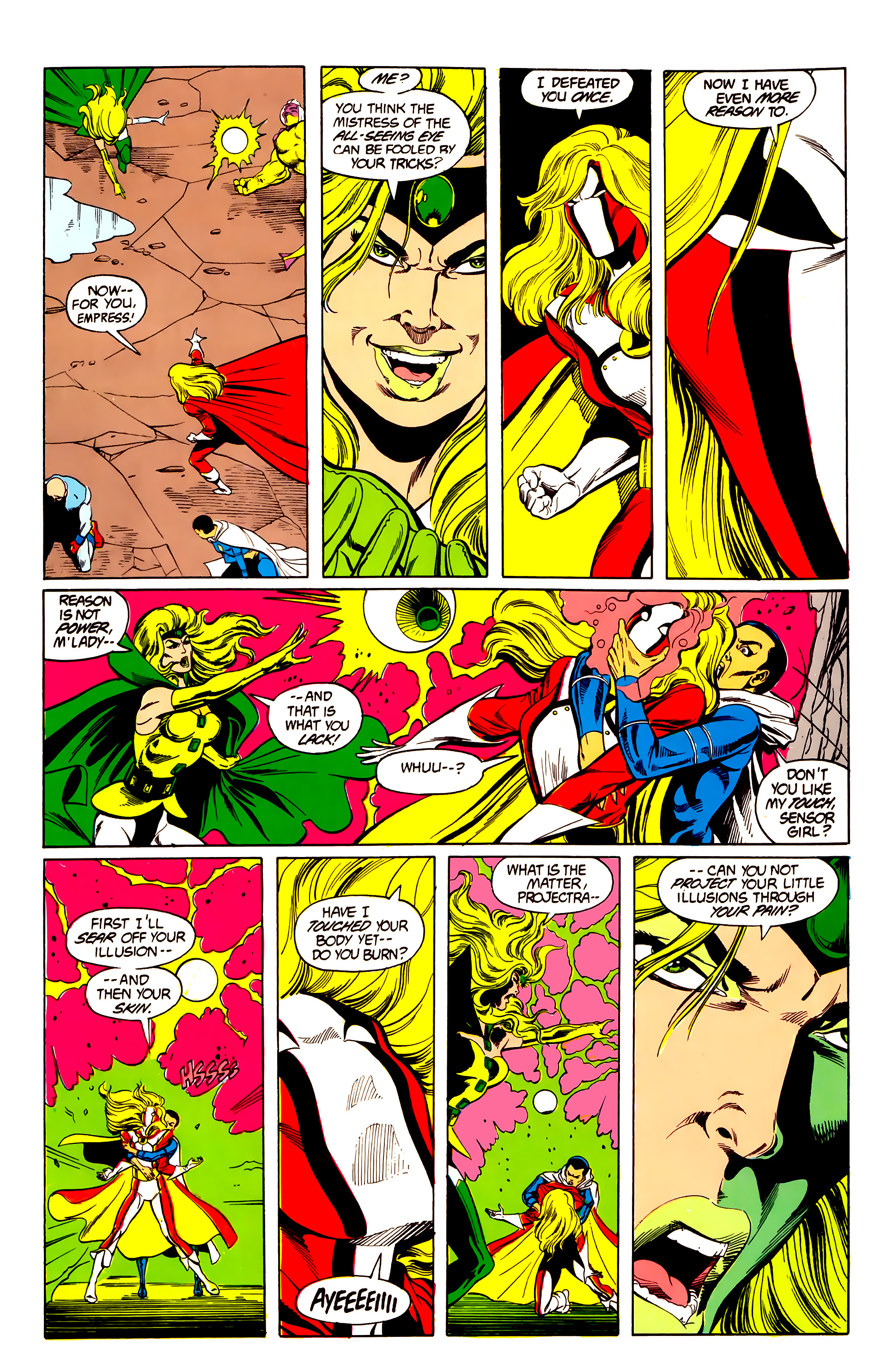 Legion of Super-Heroes (1984) 26 Page 28