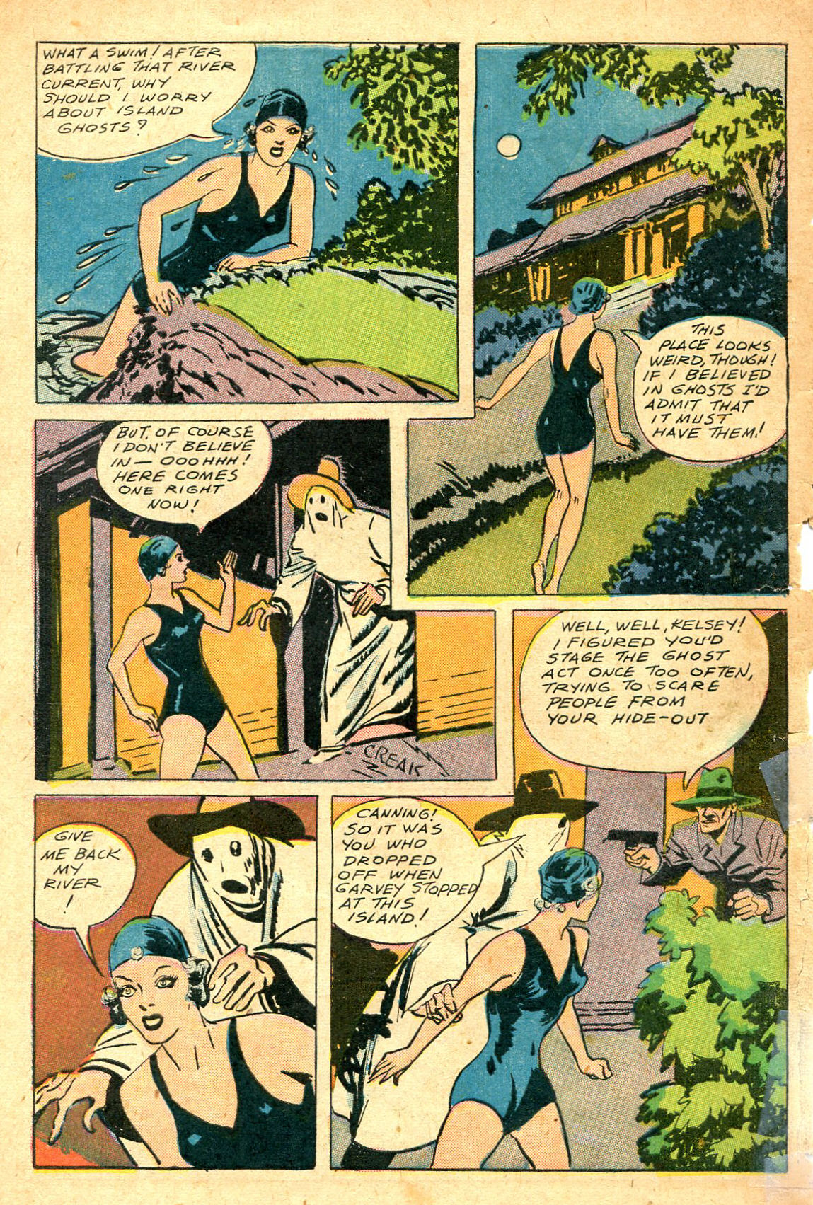 Read online Shadow Comics comic -  Issue #47 - 49