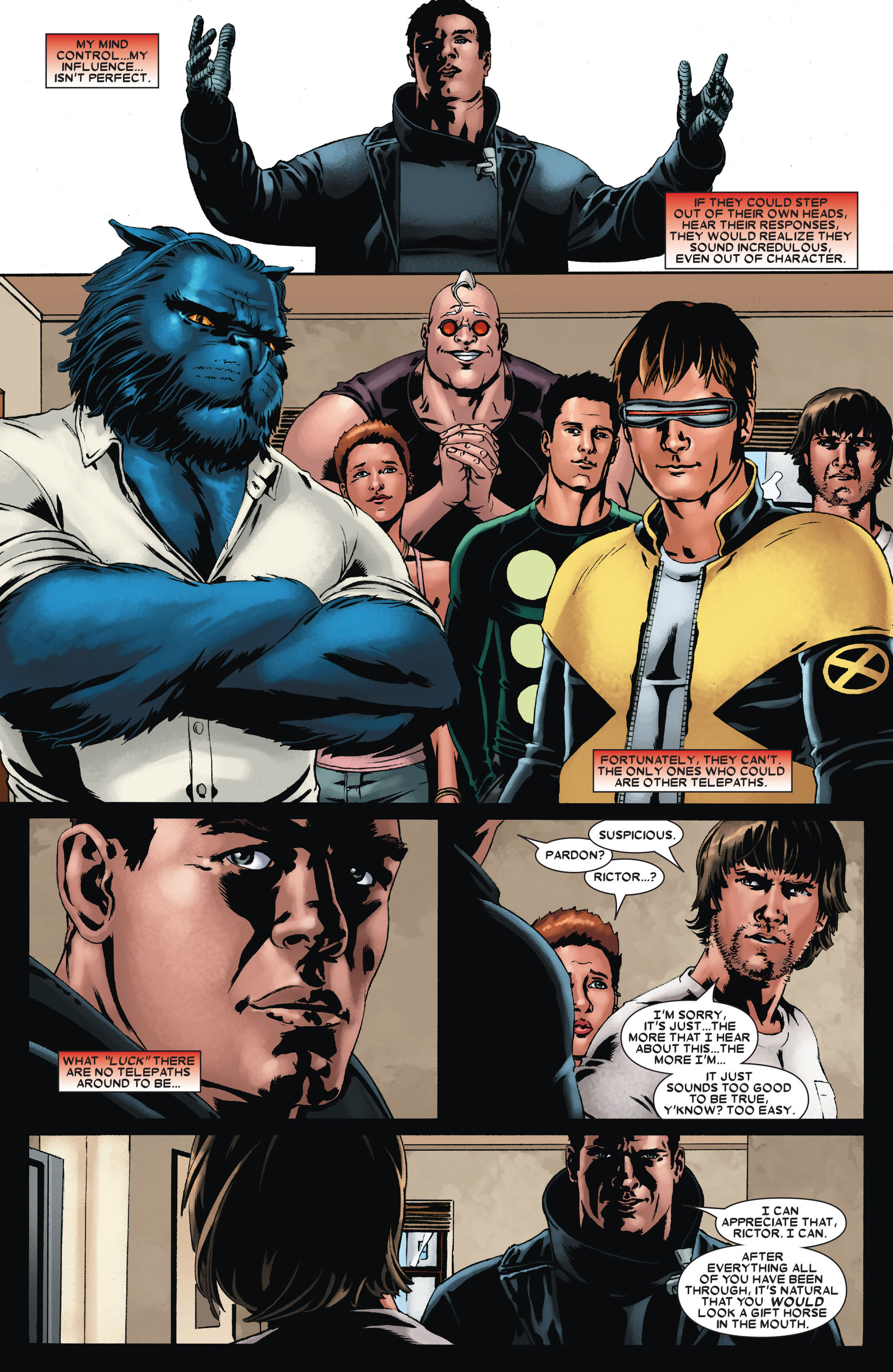 Read online X-Factor (2006) comic -  Issue #23 - 12