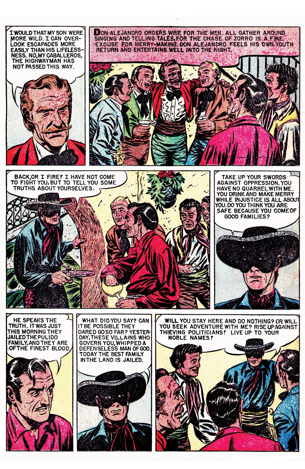 Read online AM Archives: The Mark of Zorro #1 1949 Dell Edition comic -  Issue #1 1949 Dell Edition Full - 26
