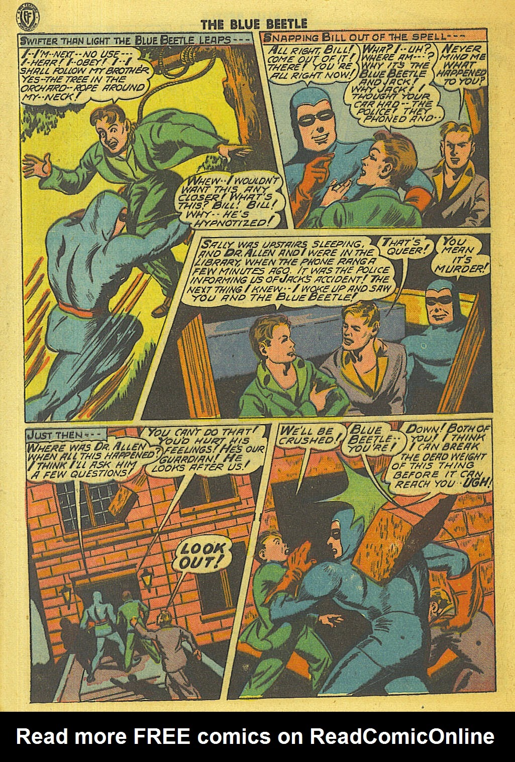 The Blue Beetle issue 35 - Page 9