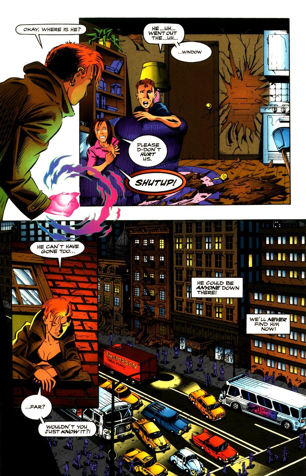 Read online ShadowHawk comic -  Issue #8 - 17