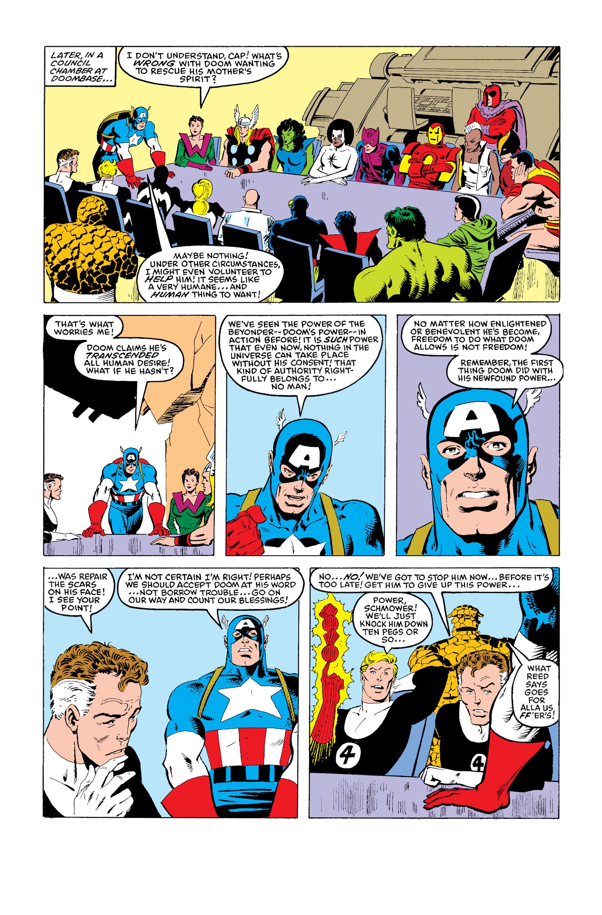 Read online Secret Wars (1985) comic -  Issue #11 - 24