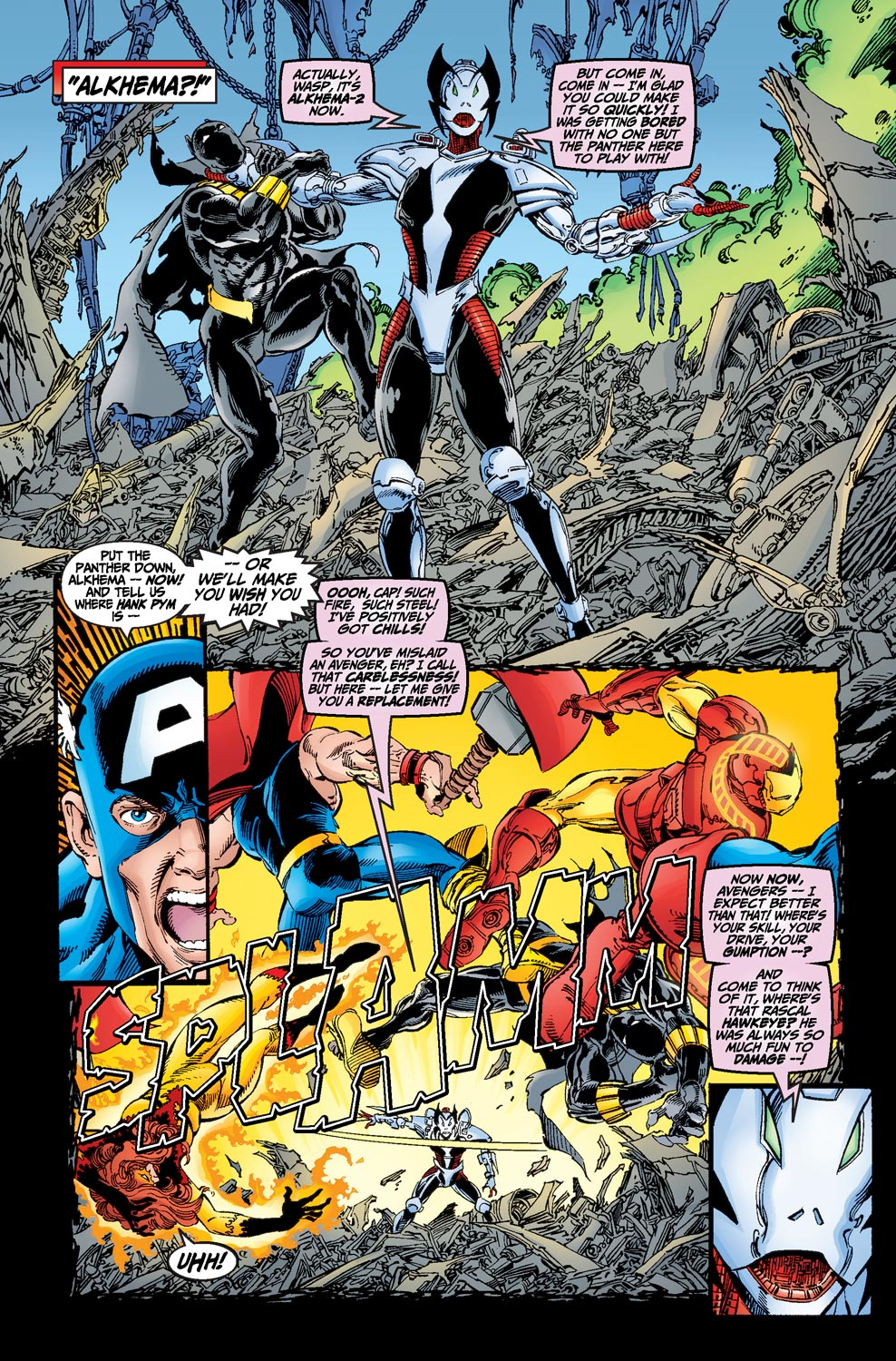 Read online Avengers (1998) comic -  Issue #19 - 15