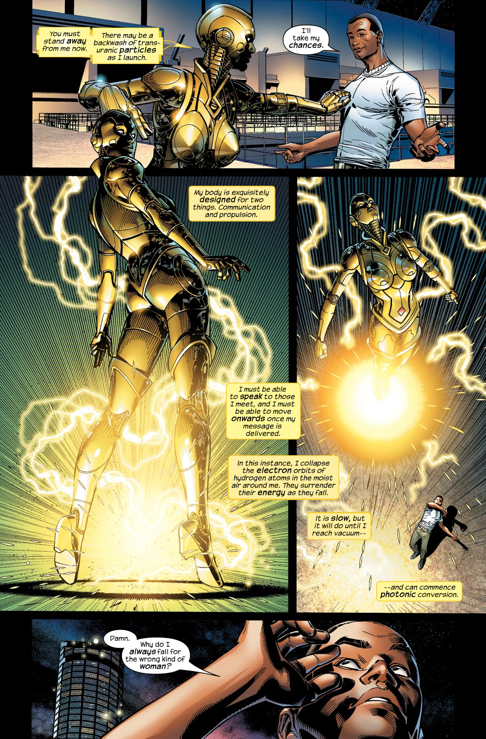 Read online Ultimate Vision comic -  Issue #1 - 7