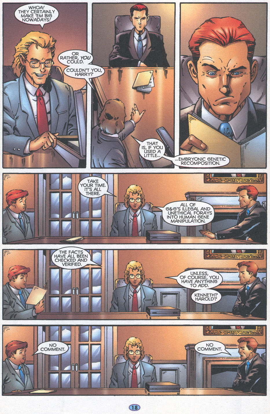 Read online Troublemakers comic -  Issue #16 - 16