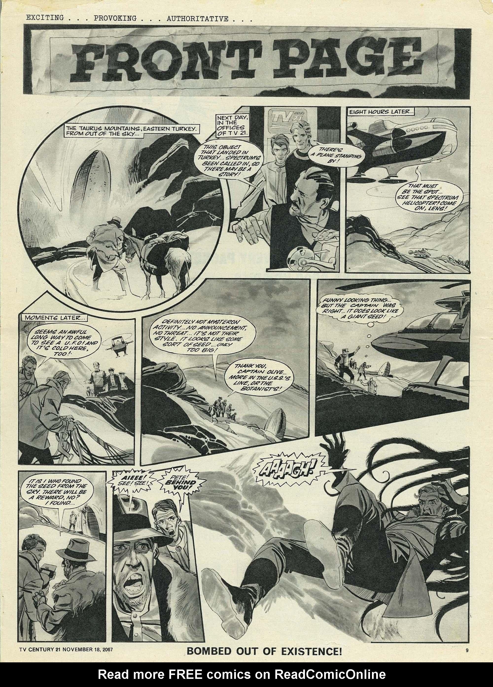 Read online TV Century 21 (TV 21) comic -  Issue #148 - 9