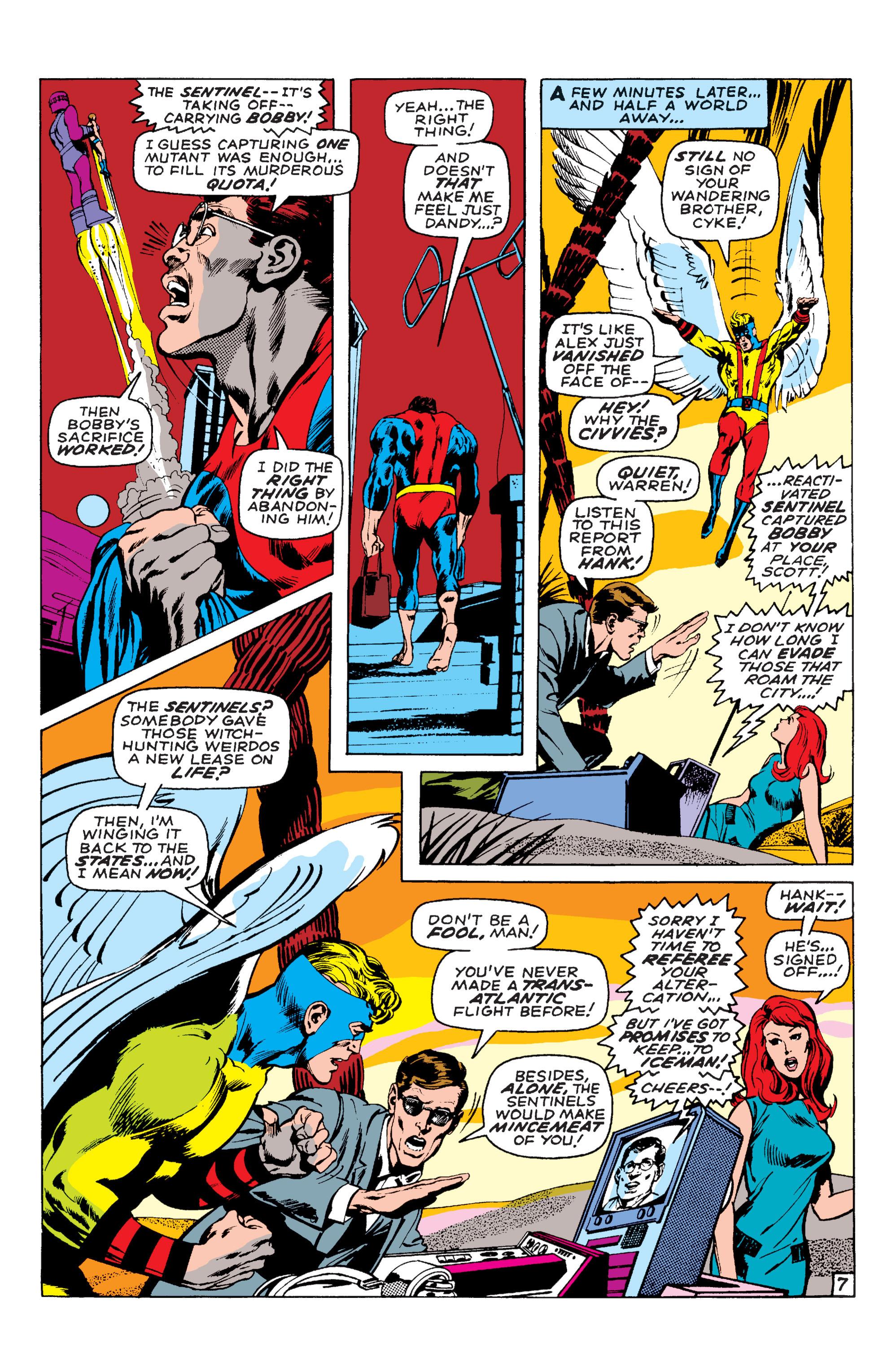 Read online Uncanny X-Men (1963) comic -  Issue #58 - 7