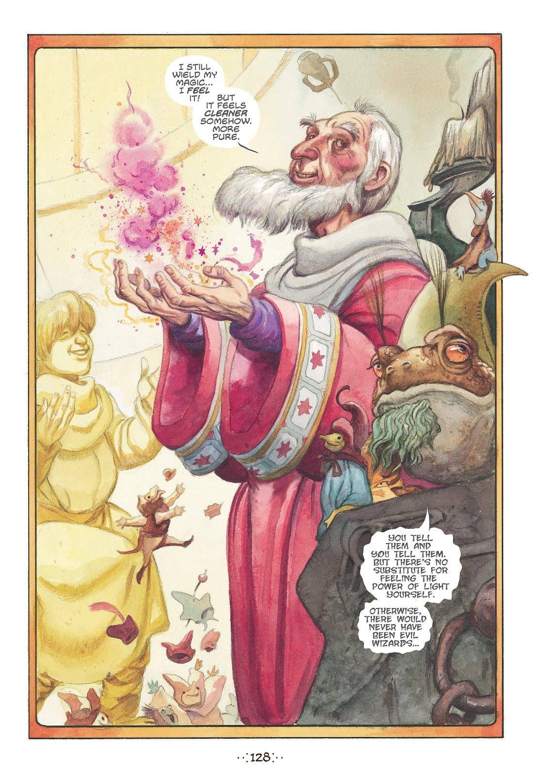 Read online The Wizard's Tale comic -  Issue # TPB - 121