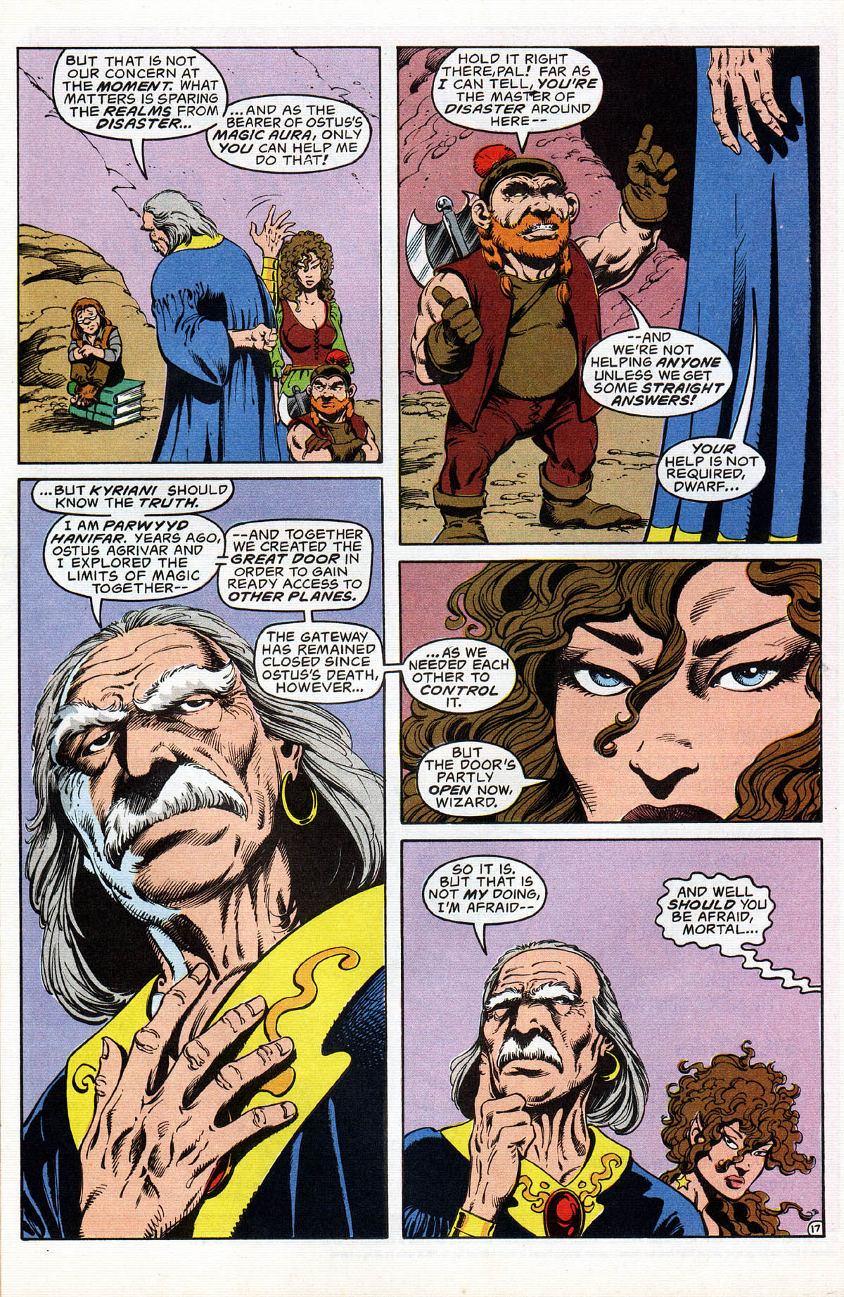 Read online Advanced Dungeons & Dragons comic -  Issue #17 - 20