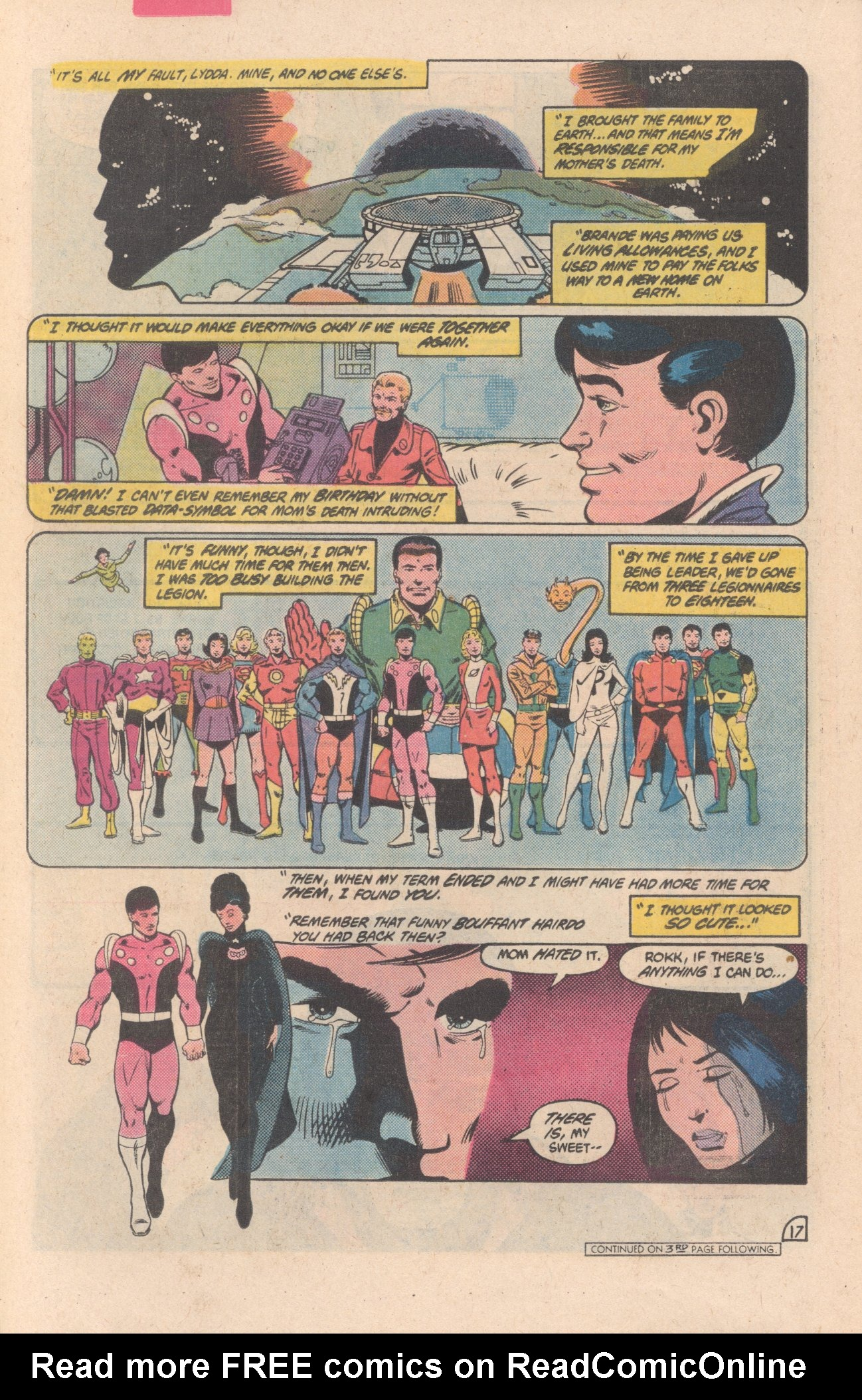 Legion of Super-Heroes (1980) 297 Page 17