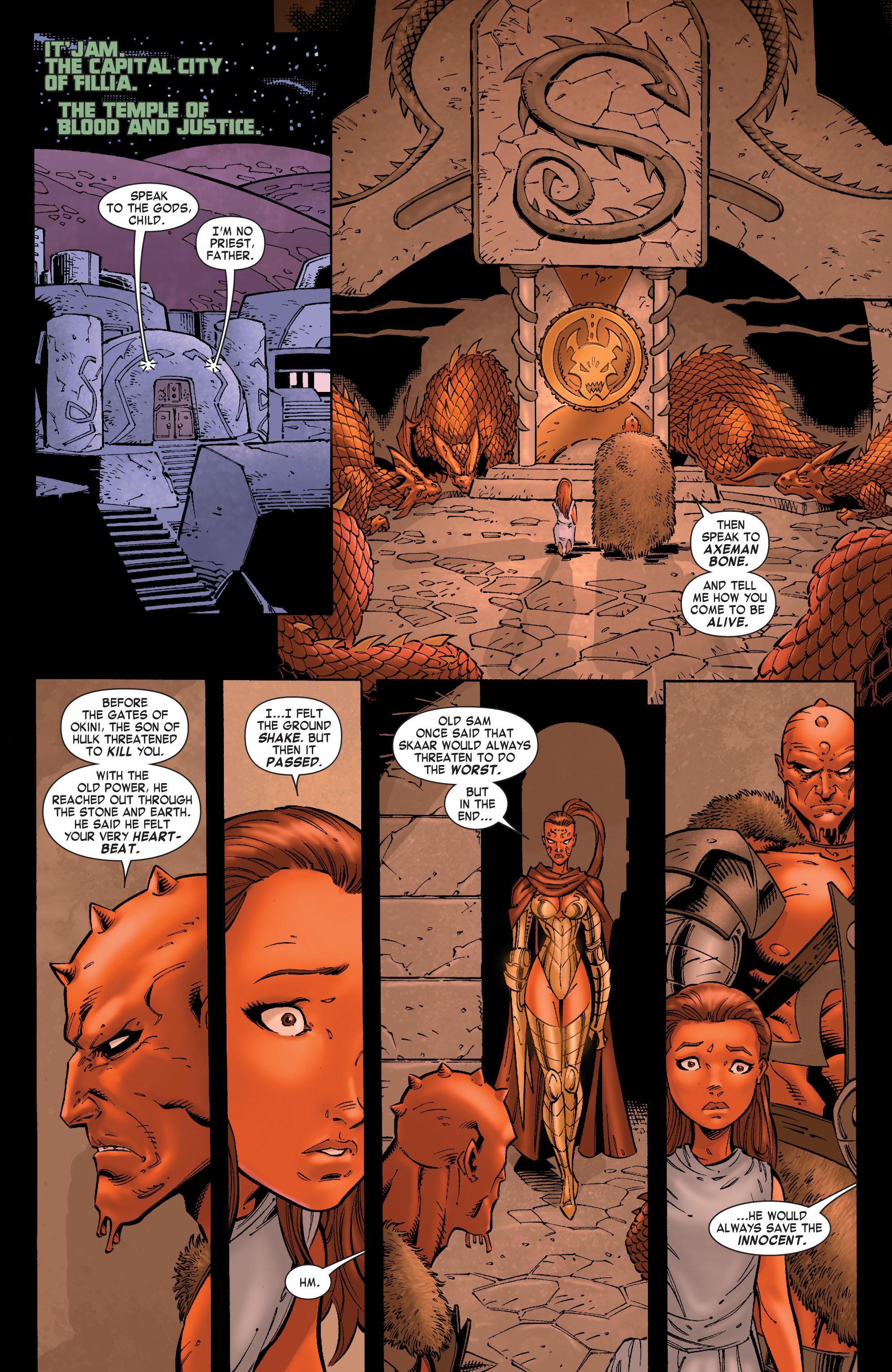 Read online Skaar: Son of Hulk comic -  Issue #8 - 13