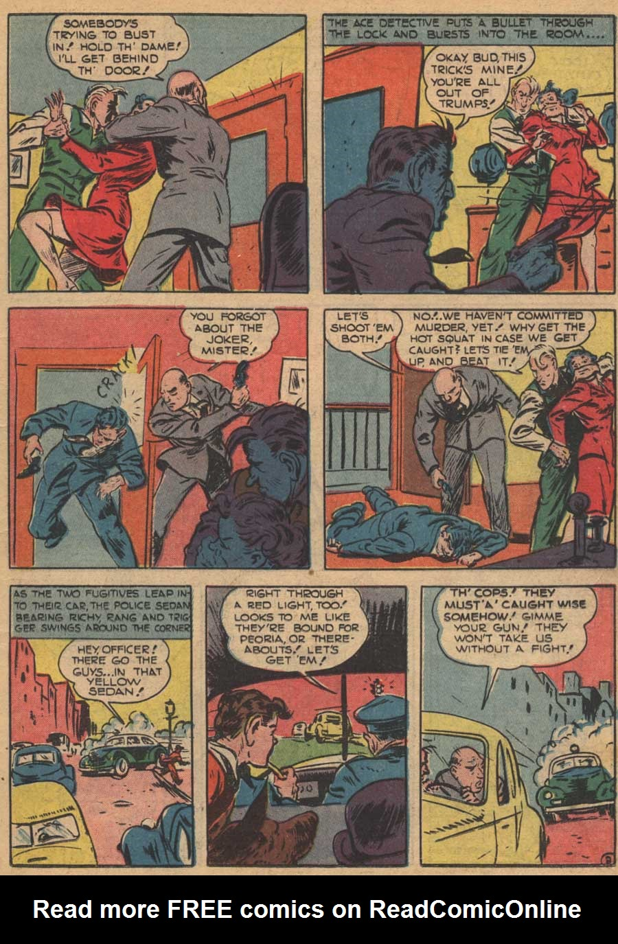 Blue Ribbon Comics (1939) issue 16 - Page 21