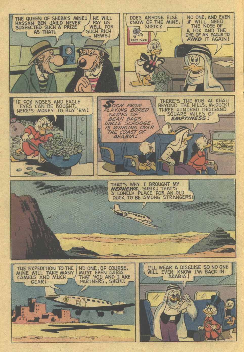 Read online Uncle Scrooge (1953) comic -  Issue #121 - 6