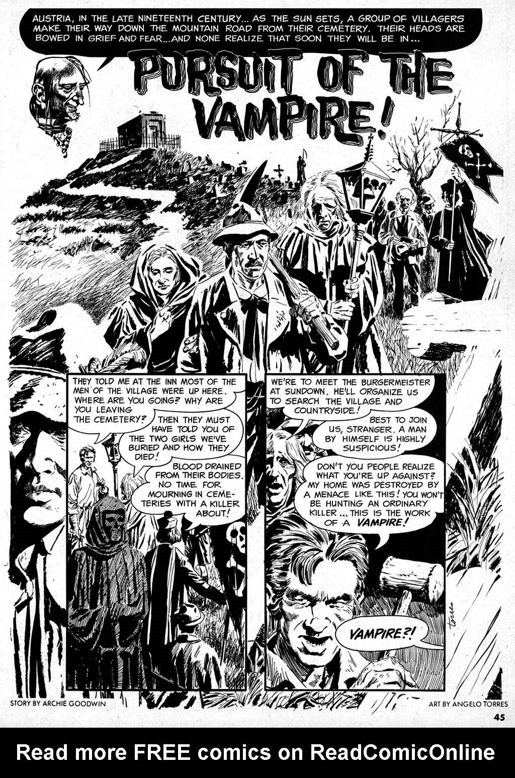 Creepy (1964) Issue #1 #1 - English 45