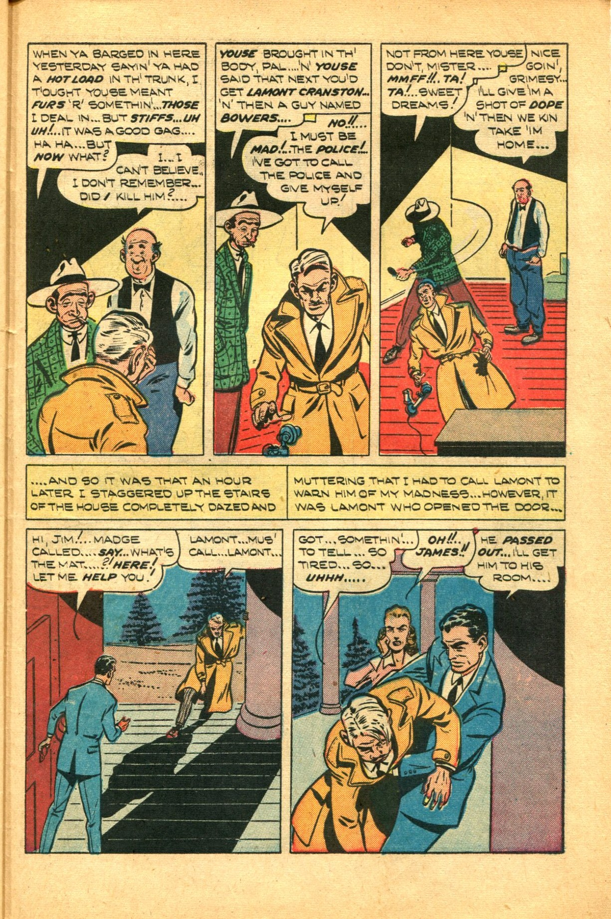 Read online Shadow Comics comic -  Issue #91 - 41