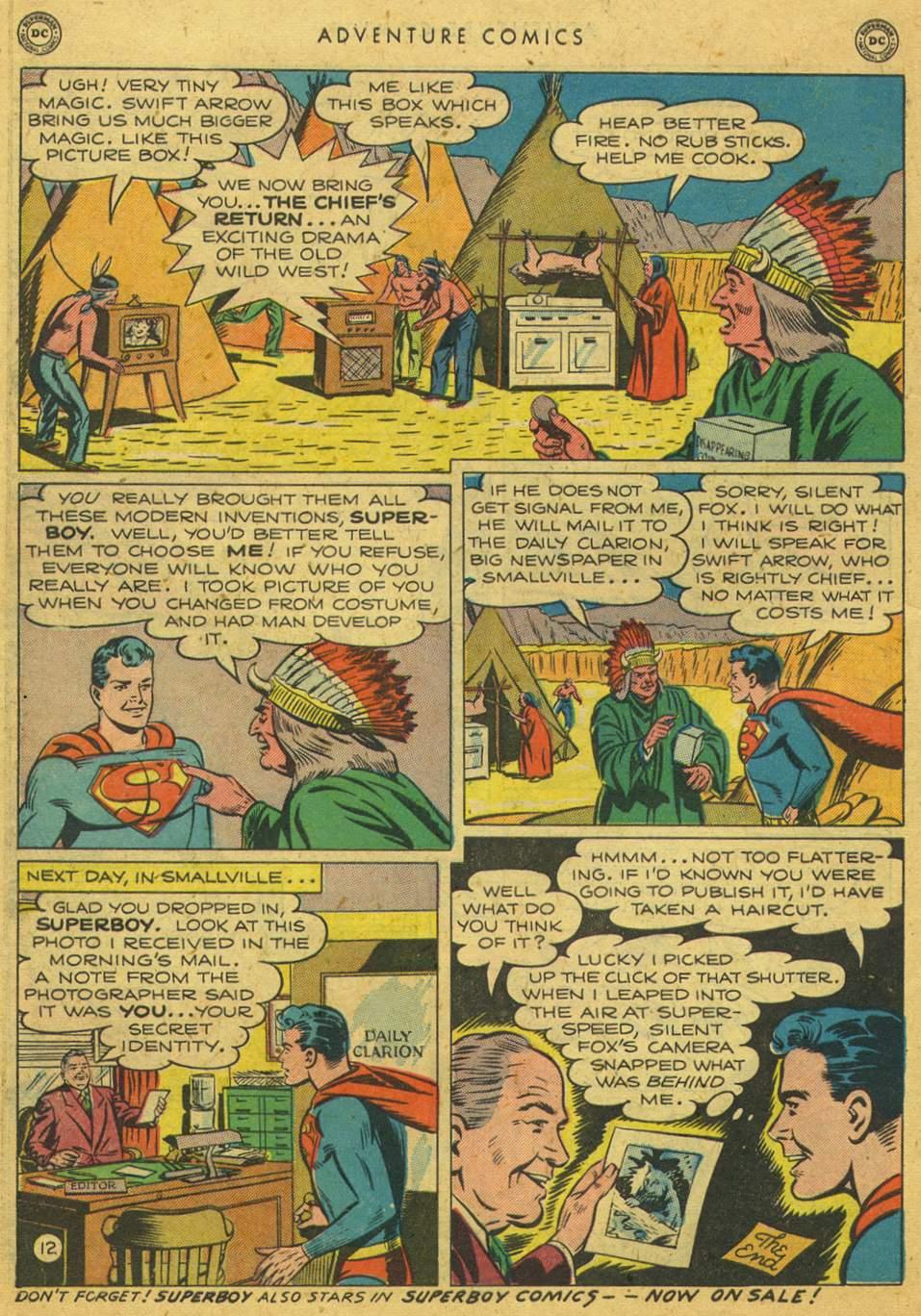 Read online Adventure Comics (1938) comic -  Issue #164 - 14