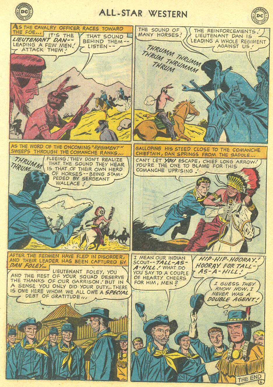 Read online All-Star Western (1951) comic -  Issue #95 - 24