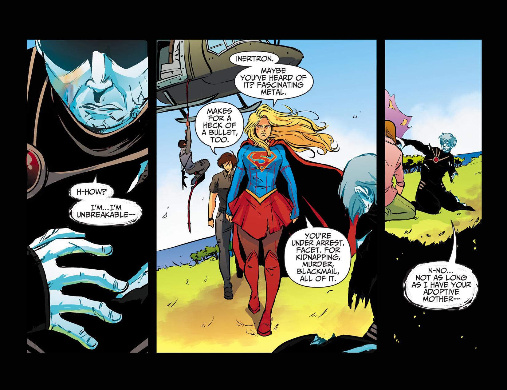 Read online Adventures of Supergirl comic -  Issue #13 - 14