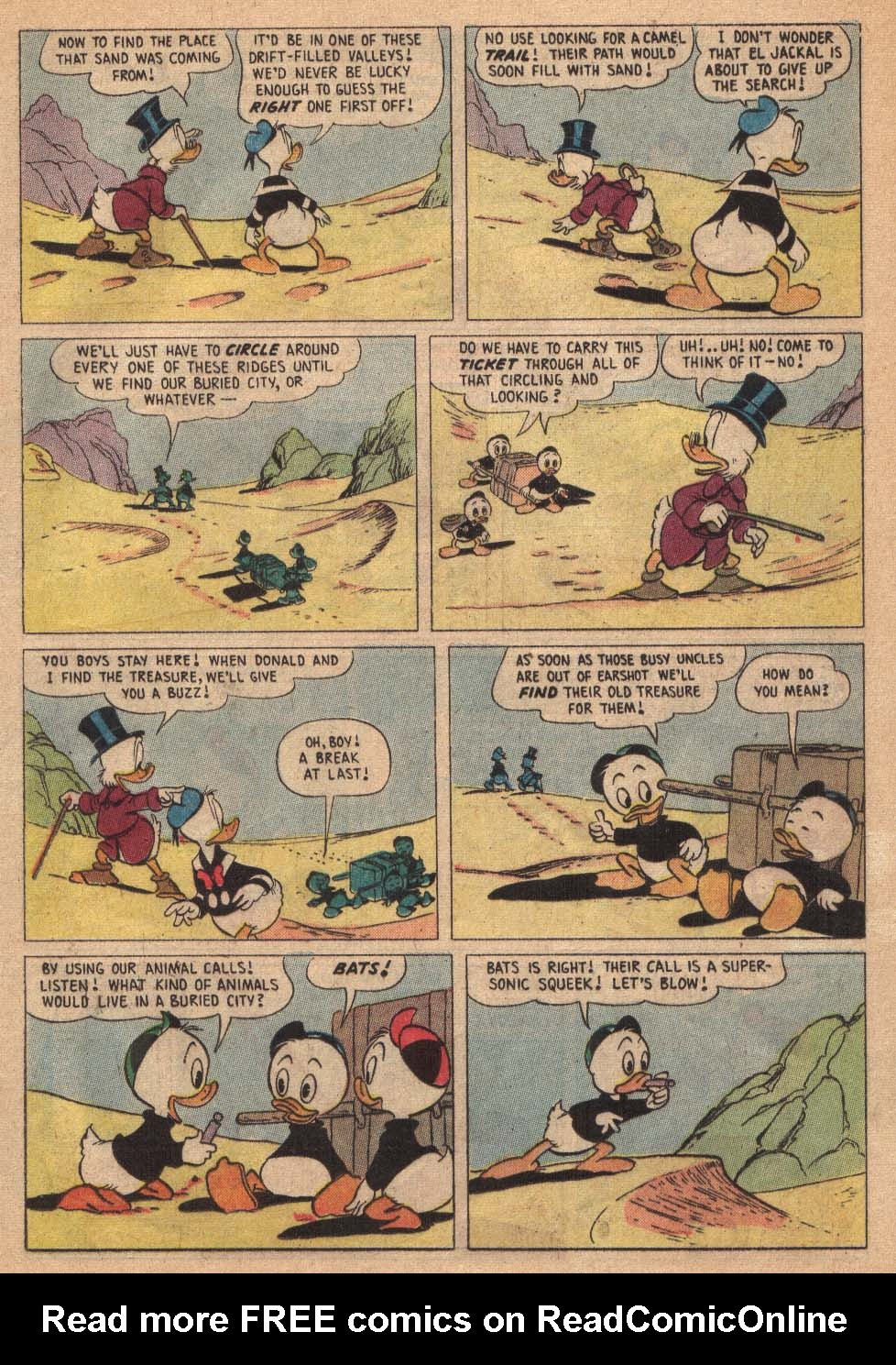 Read online Uncle Scrooge (1953) comic -  Issue #19 - 17
