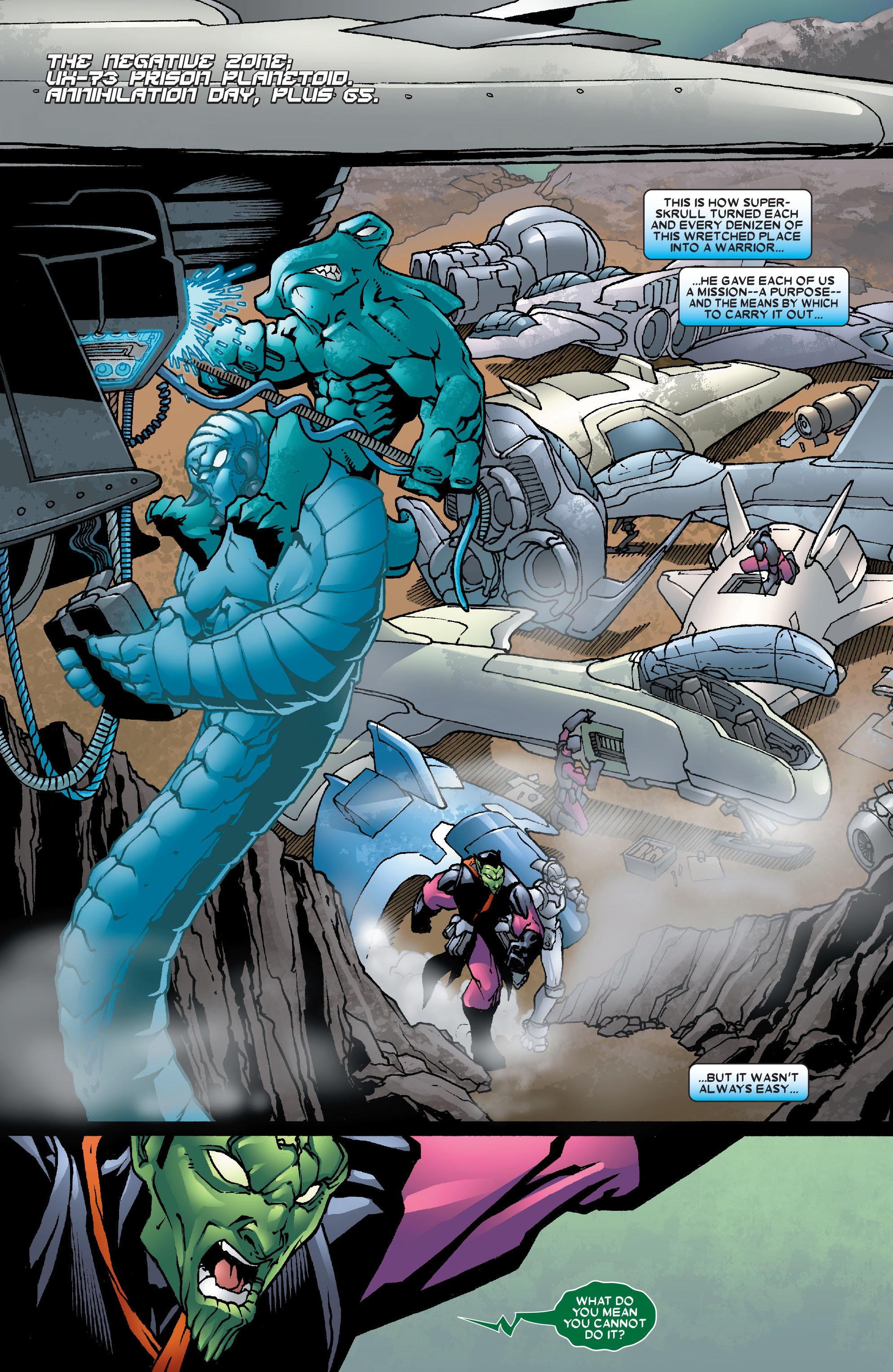 Read online Annihilation: Super-Skrull comic -  Issue #3 - 6