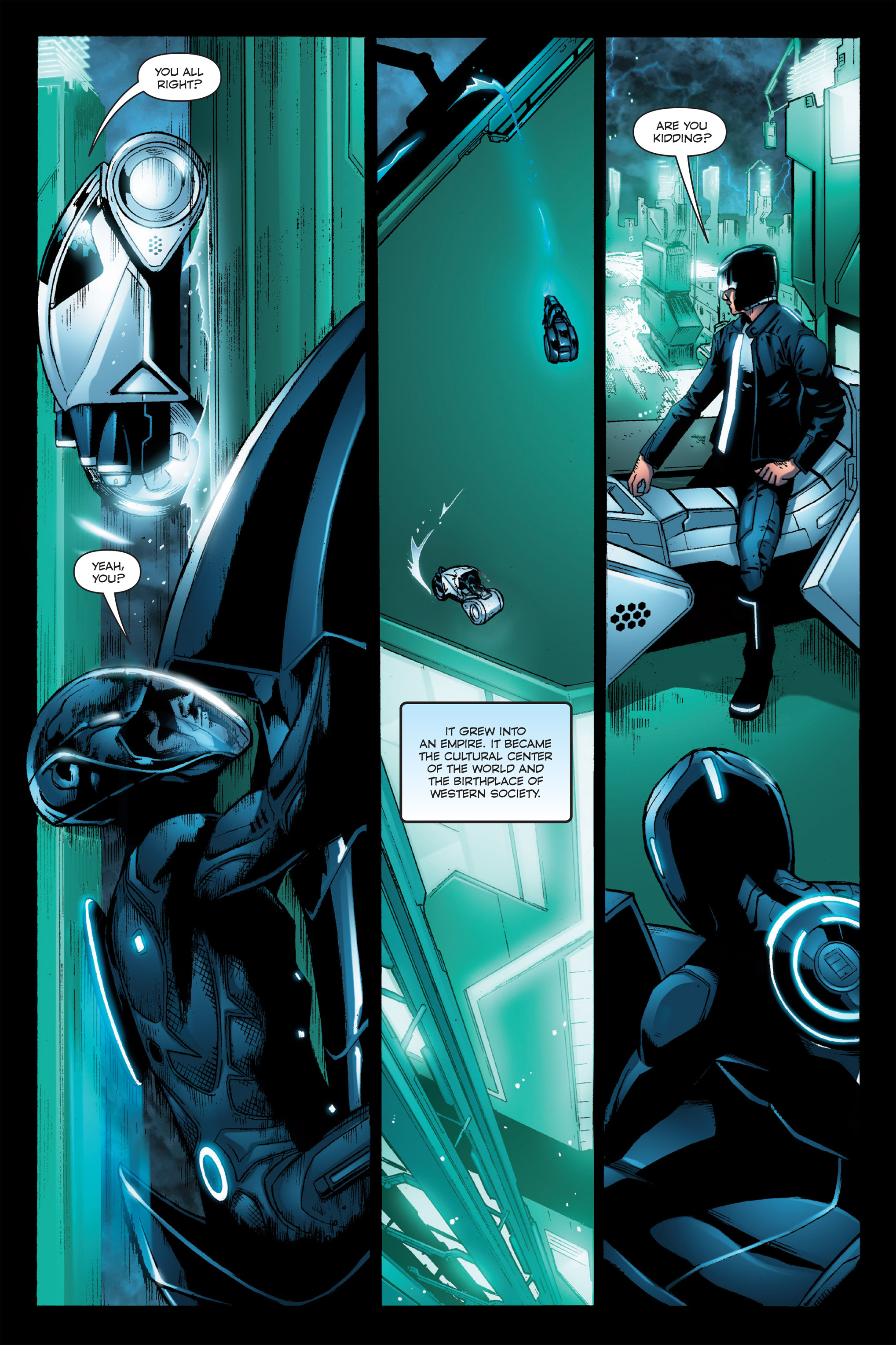 Read online TRON: Betrayal comic -  Issue # TPB - 18