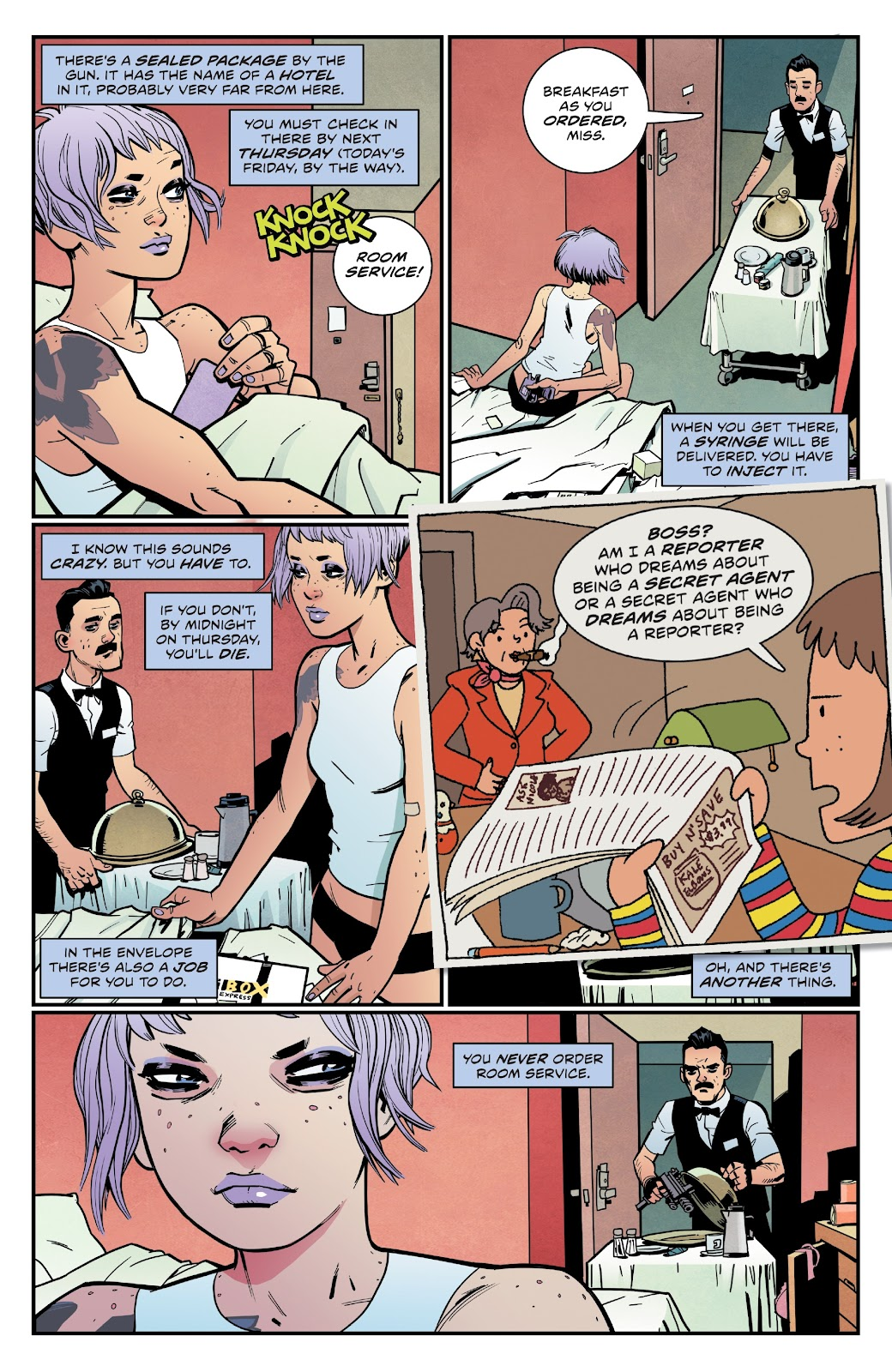 Read online Lodger comic -  Issue #5 - 27