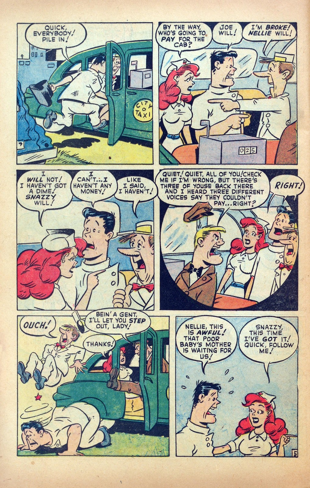Read online Nellie The Nurse (1945) comic -  Issue #25 - 24