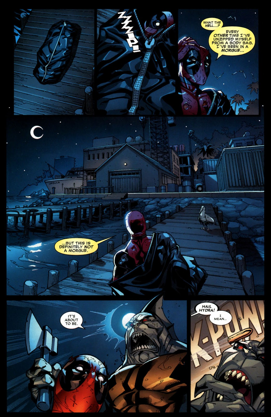 Read online Deadpool (2008) comic -  Issue #6 - 21