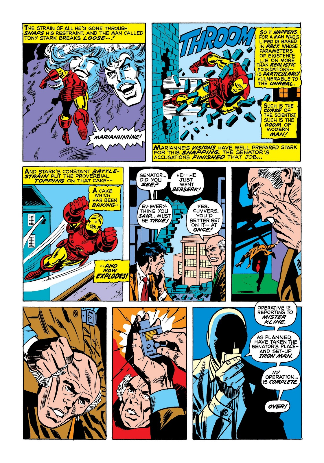 Read online Marvel Masterworks: The Invincible Iron Man comic -  Issue # TPB 8 (Part 1) - 80