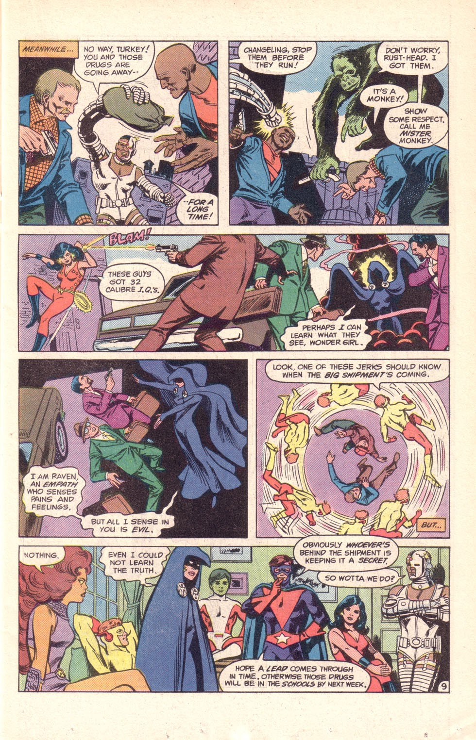 Read online The New Teen Titans (Drug Awareness Specials) comic -  Issue #1 - 11