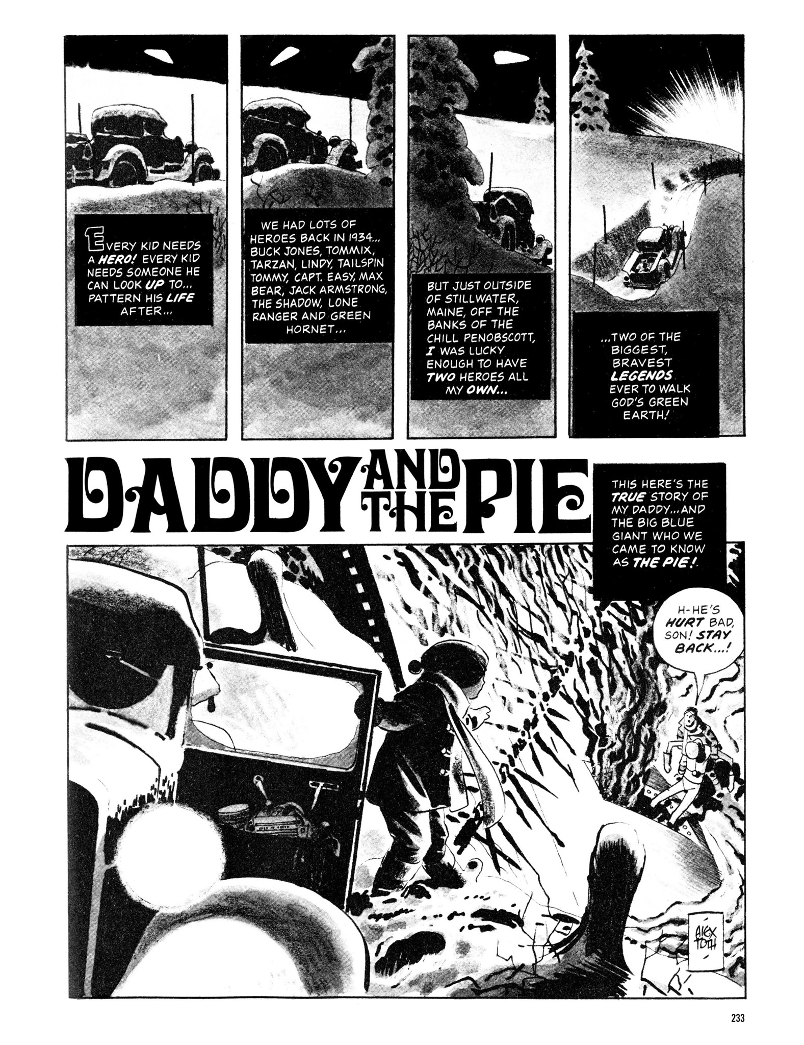 Read online Eerie Archives comic -  Issue # TPB 13 - 234